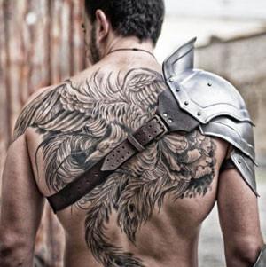 armadura pauldron gladiator