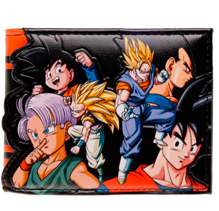 billetera dragon ball