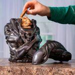 Caja de galletas Alien