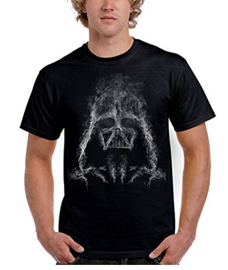 camiseta darth smoke