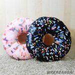 Cojín donuts de chocolate