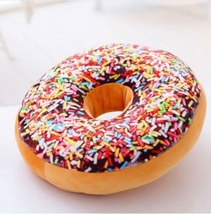 cojines donuts