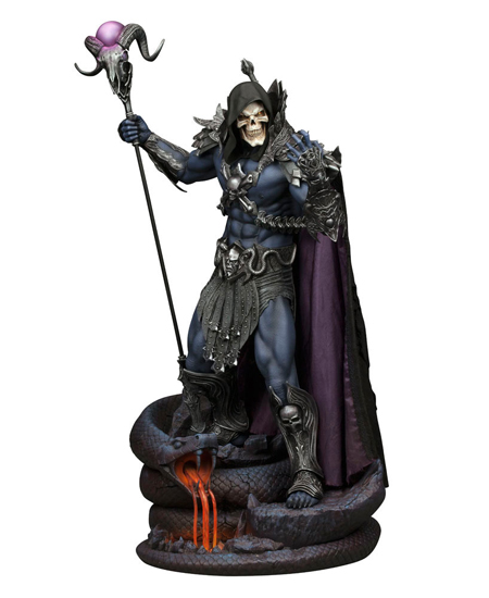 estatua skeletor
