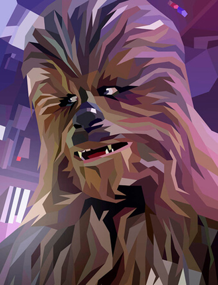 Chewbacca poster