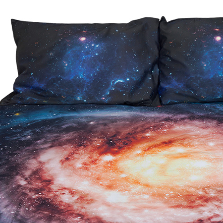 galaxy bedding