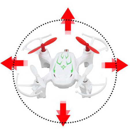 microdrone water resistant