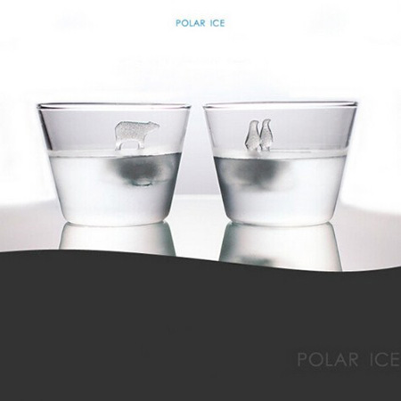 moldes hielo pinguino