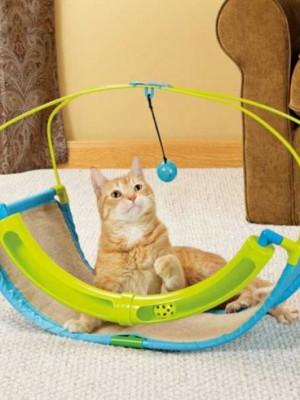 rascador gatos rocking roller