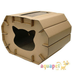 rascador gatos reciclable