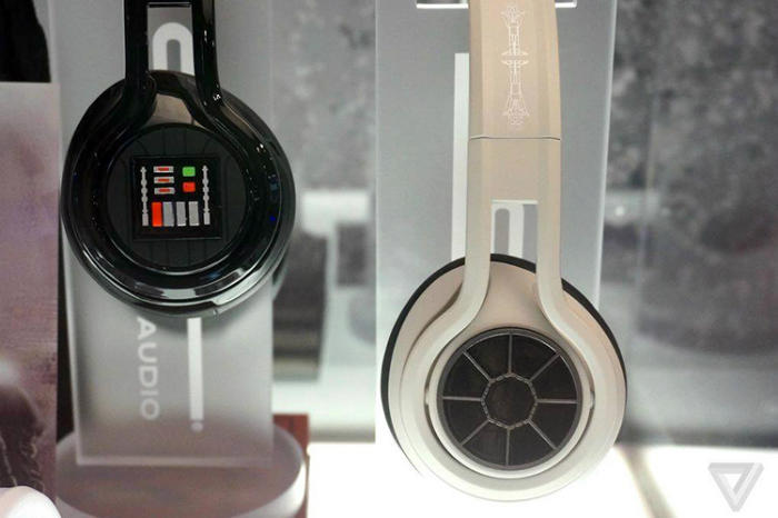Auriculares  Tie fighters Darth Vader