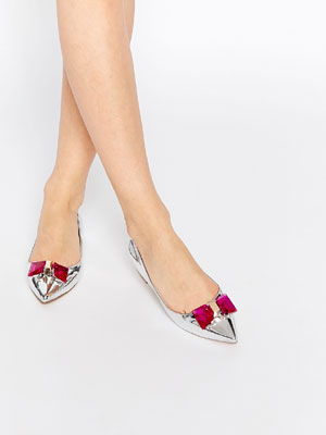 zapatos bailarina punta