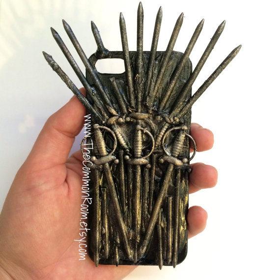 Funda iPhone Trono Hierro