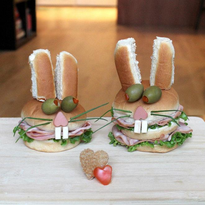 Hamburguesa Conejo