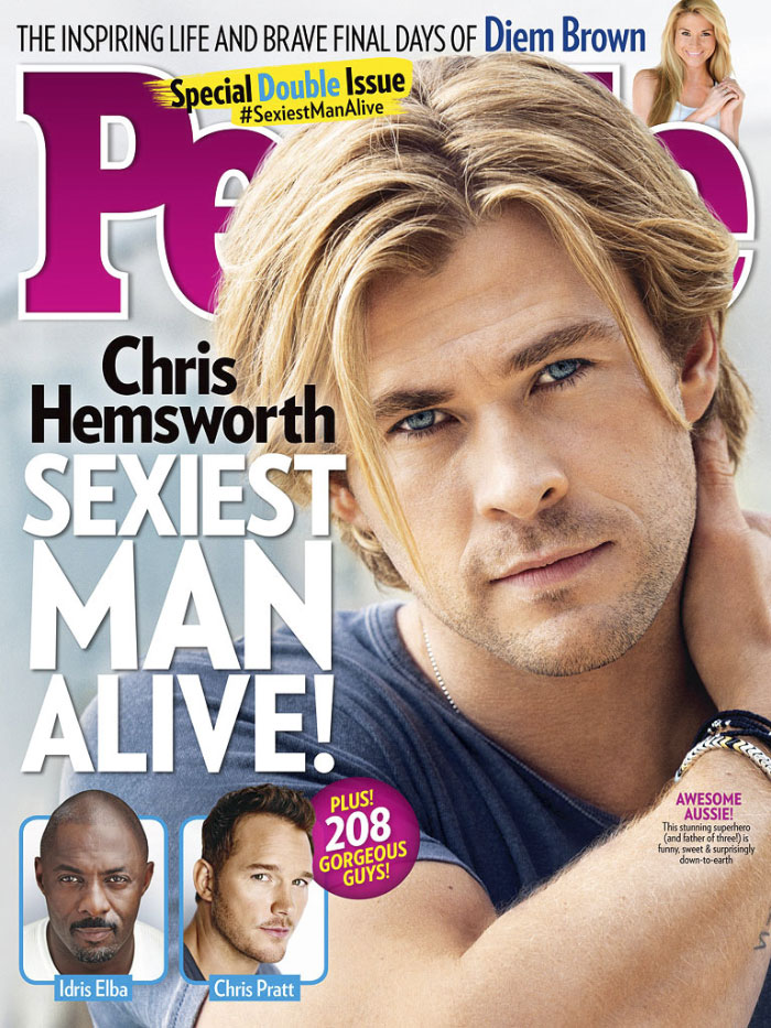 2014, Chris Hemsworth