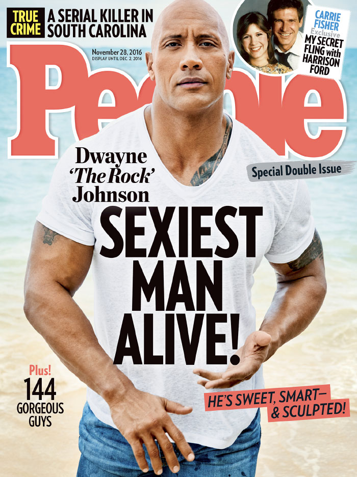 2016, Dwayne Johnson