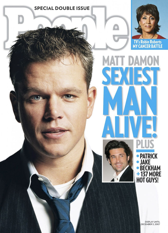 2007, Matt Damon