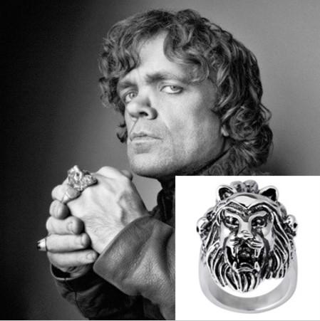 anillo leon juego de tronos