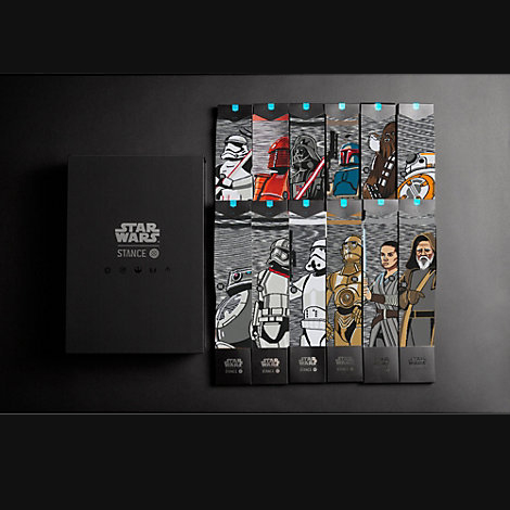 Colección calcetines adultos Stance Star Wars