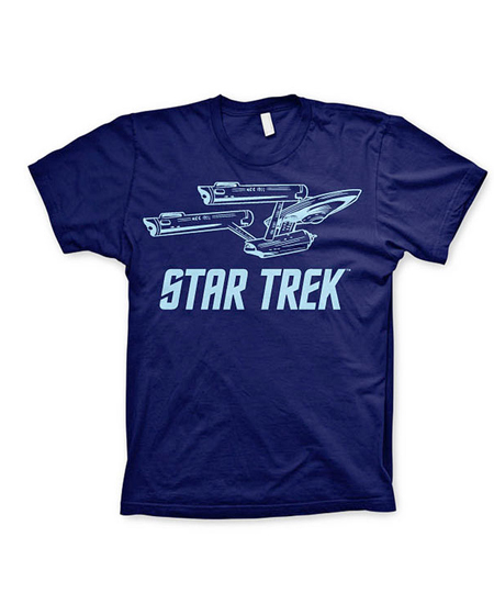 camiseta nave enterprise