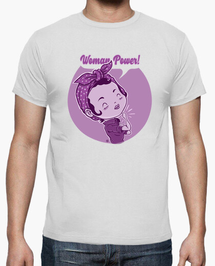 camiseta woman power