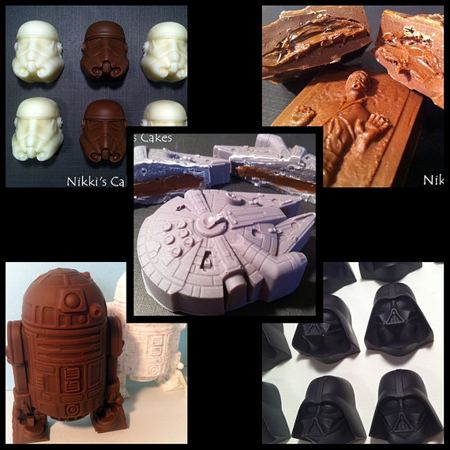 chocolatinas star wars