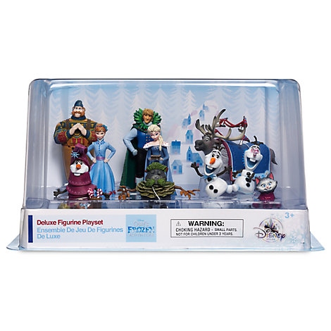 Set figuritas exclusivas Frozen