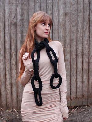 bufanda cadena