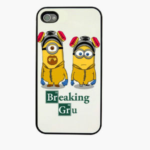 funda iPhone 4 4s minions breakingbad