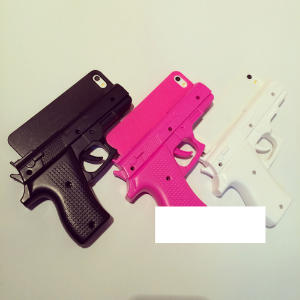 Funda pistola iPhone