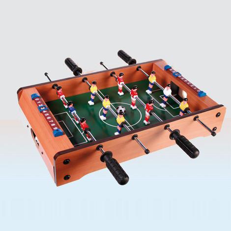 mini futbolin madera