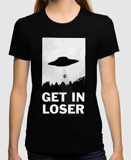 camiseta get in loser