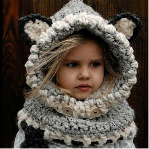 gorro animales bosque