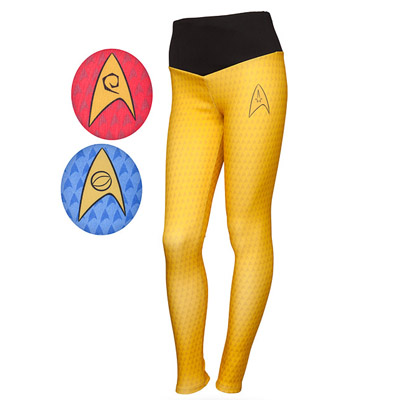 leggins star trek