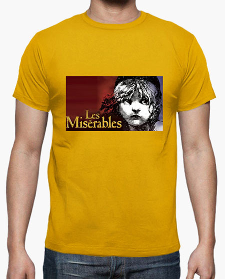 camiseta les miserables