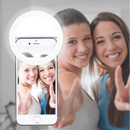 luz selfie