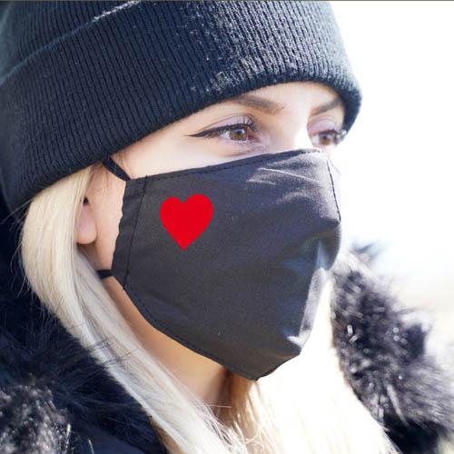 mascarilla corazon