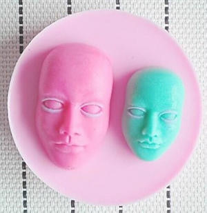 molde máscara