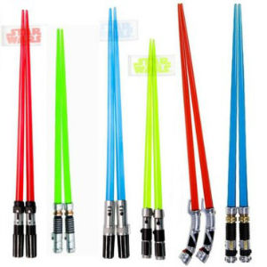 palillos chinos sable Star Wars