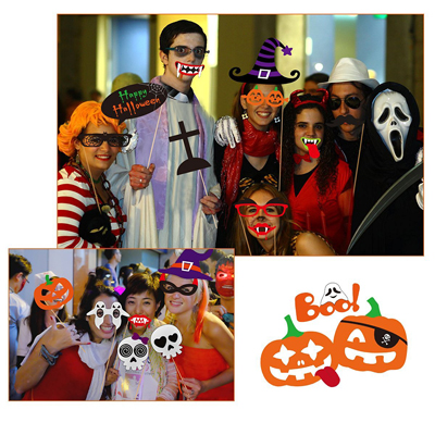 Photo Booth Atrezzo de Halloween