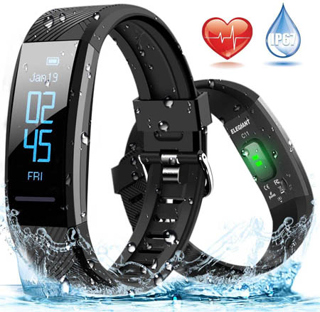 pulsera fitness led