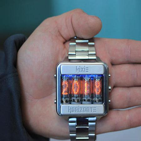 reloj nixie