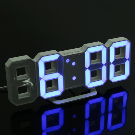 reloj de pared digital