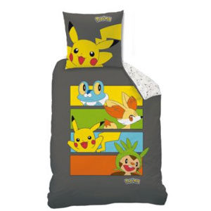 ropa cama pokemon team dark