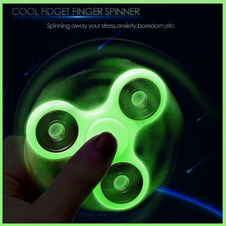 spinner luminoso