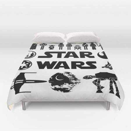 funda personajes star wars