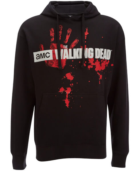 sudadera the walking dead