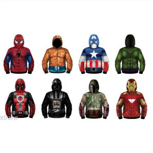 sudaderas superhéroes marvel star wars
