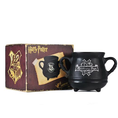 Caldero logo 3D Hogwarts. Harry Potter