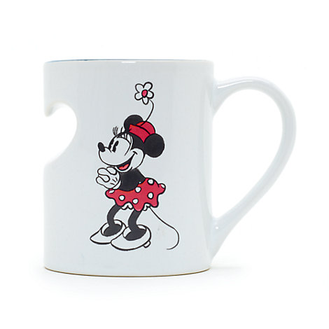 Taza a dúo Minnie Mouse