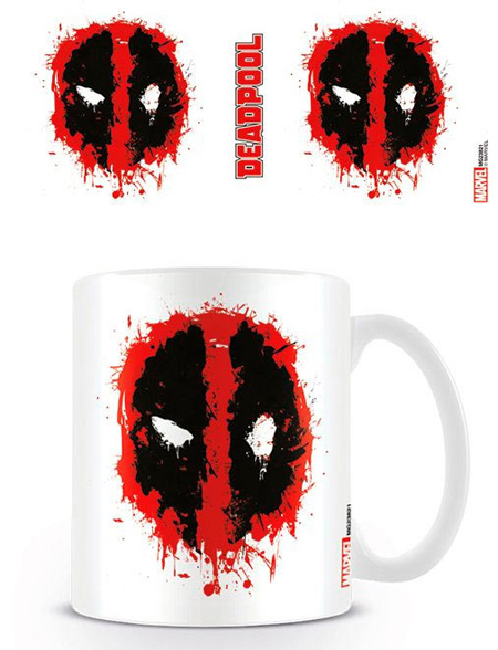 Taza cara Deadpool